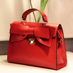 The Karen - Essential Red Bow Tote $59.95