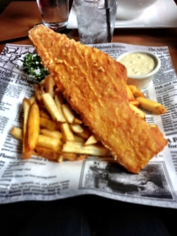 FISH AND CHIPS FOR THE WIN!