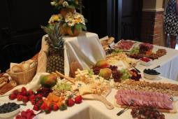 Antipasto bar made by my brother-in-law.